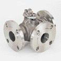 Three-Way Ball Valve, 4 Seats
