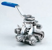Diverter Port Ball Valve